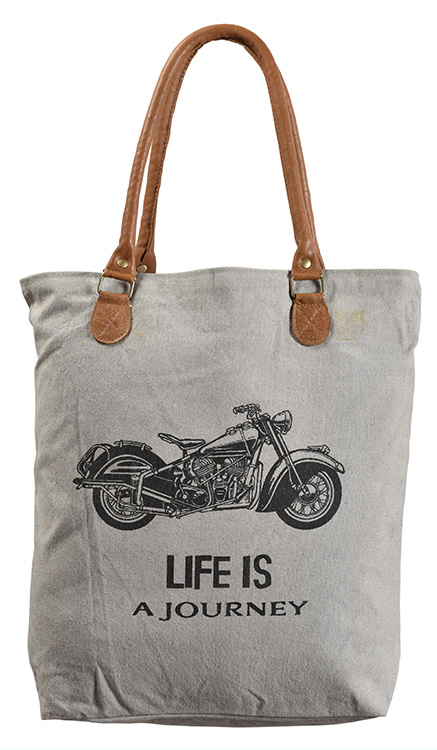 Indian Cotton Canvas Tote Bags Printed Canvas Tote Bag