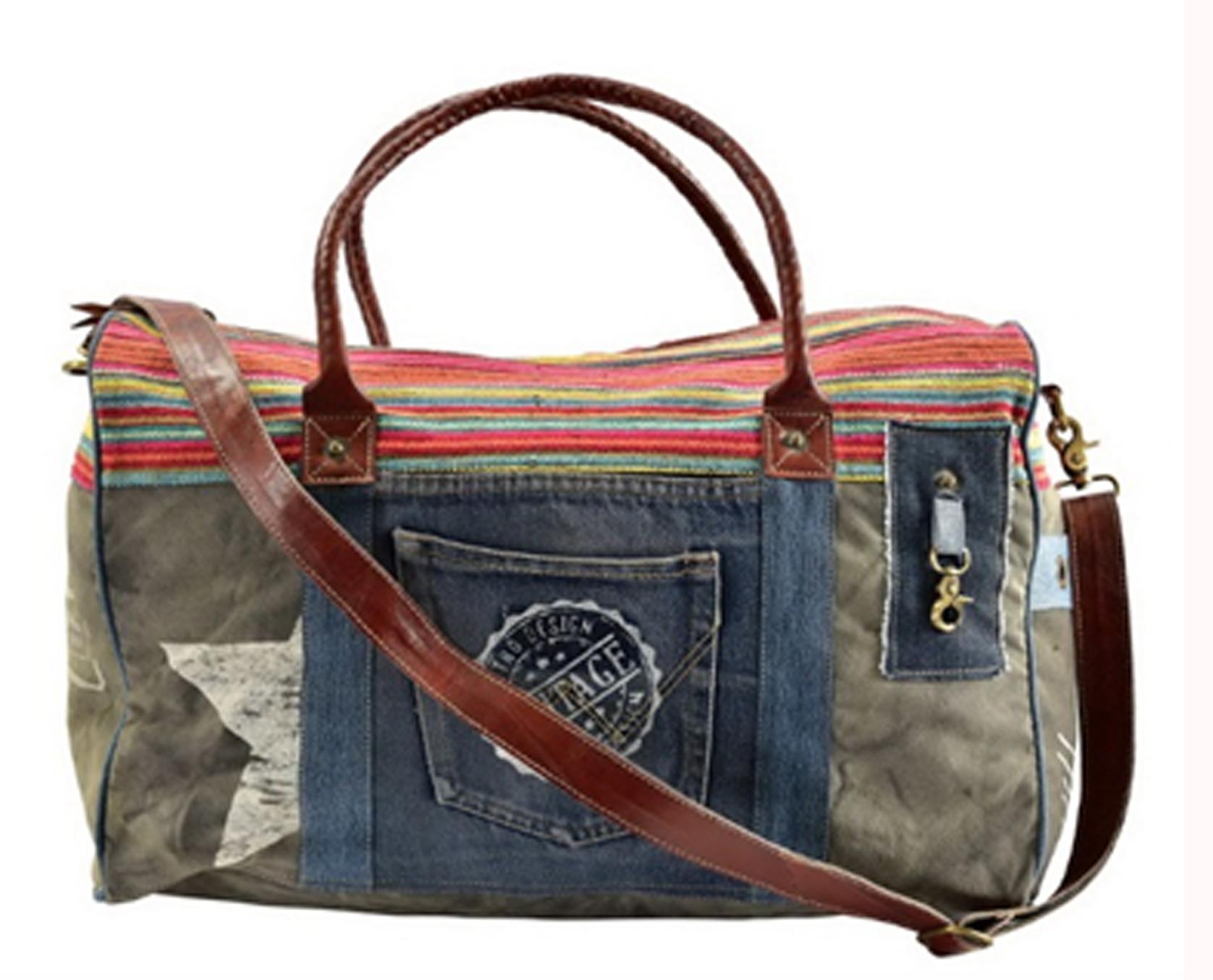 Vintage Boho Travelling Bag