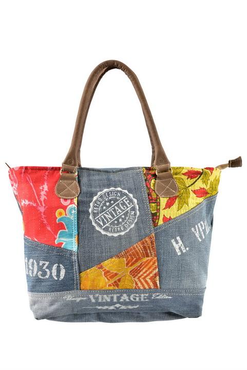 Vintage Fabric Solder Bag