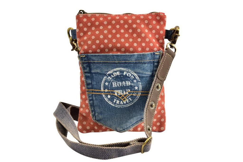 Vintage Passport Bag